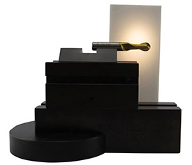 Magnetic light diffuser plate